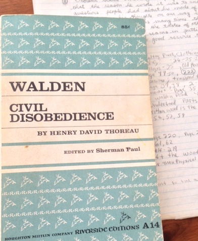 Walden and notes